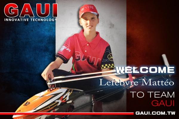 GAUI Team-pilot(Lefebvre Mattéo)