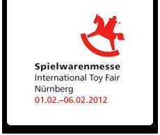 Nuremberg International Toys Fair (Feb 1~6, 2012).