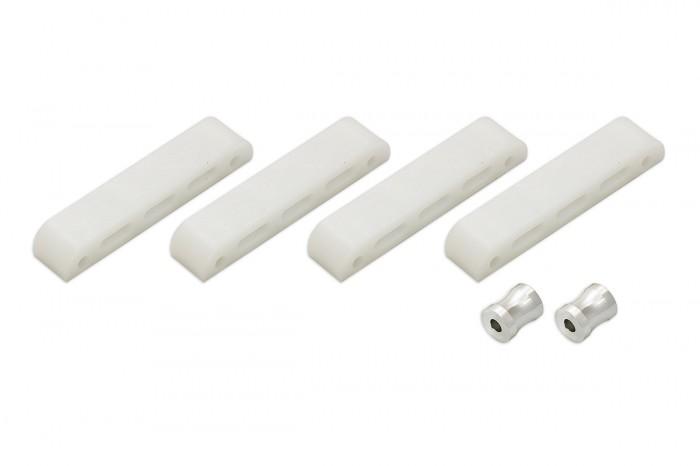 215054-X4 II Plastic & Alu. Frame spacer Pack