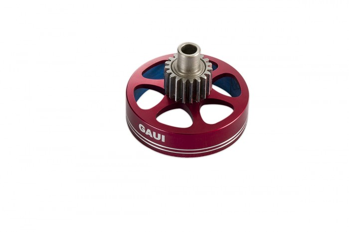 313102-NX4 19T Clutch bell cover upgrade (Red anodized)