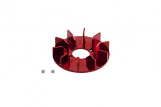 313105-NX4 CNC Fan upgrade (Red anodized)