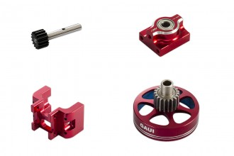 313108-NX4 19T Upgrade Kit (Red anodized)