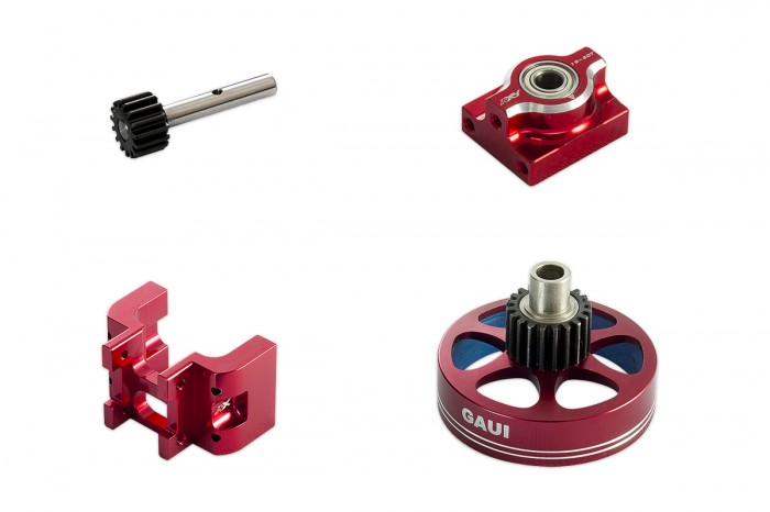 313109-NX4 20T Upgrade Kit (Red anodized)