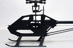 ♦Spatial 34x34 x110 mm battery placement space within the heli frame, effectively protects the battery during crash.