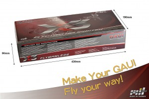 Total weight X3 basic Kit: 465g ±3%Included Main Blade: 530g ±3%Total weight X3 basic Kit with box is 810g ±3%
