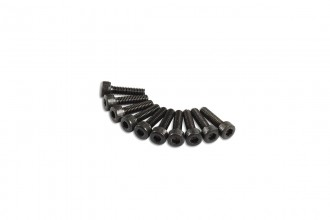 0R7210-Socket Head Cap Screw - Black (M2.6x10)x10pcs
