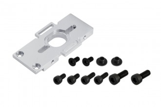 208507-X5 Motor Mount (fit M3 & M4 screws-Silver anodized)
