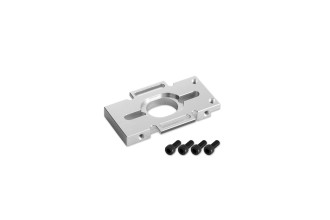215049-X4 II CNC Motor Mount (Silver anodized)