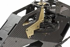 * Dual Black/Gold CNC anodized colors.