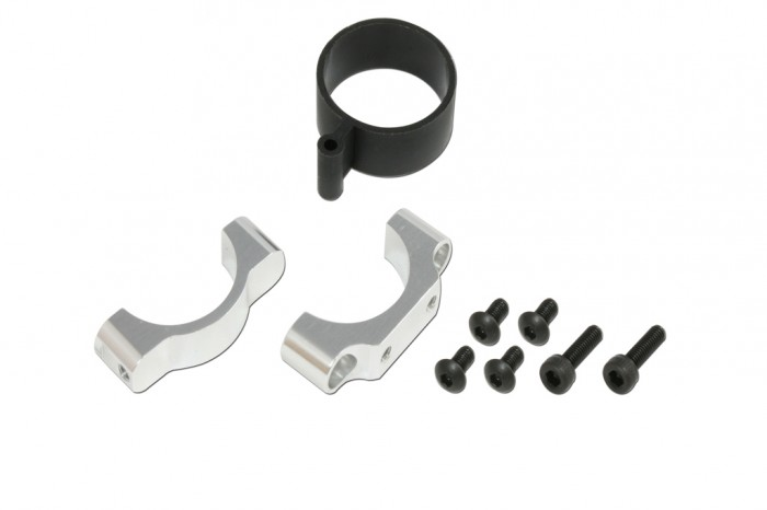 CNC Tail Support Clamp(Silver anodized)