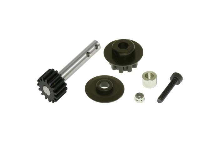 X5 Front Pulley Set and Pulley Shaft with Steel Gear (15T)