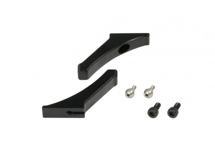 FES X5 CNC Main Grip Levers (Black anodized)
