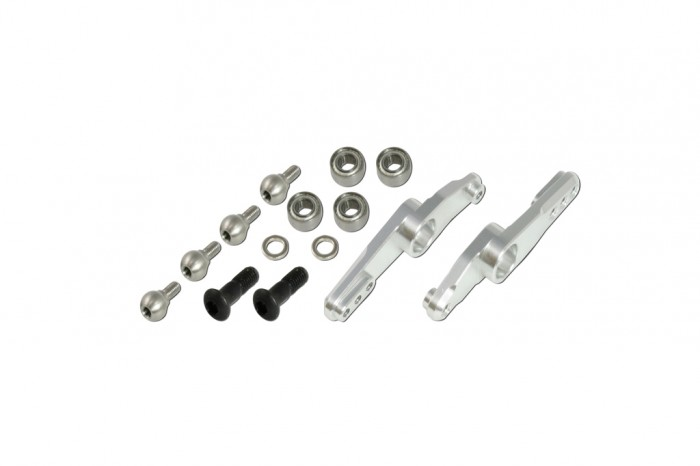 X5 CNC adjustable Mixing Levers (Silver anodized)