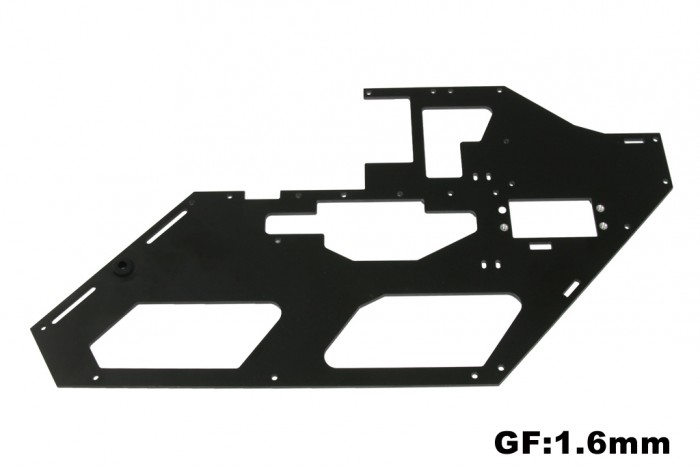 X5 Left GF Frame  with Metal parts (1.6mm)