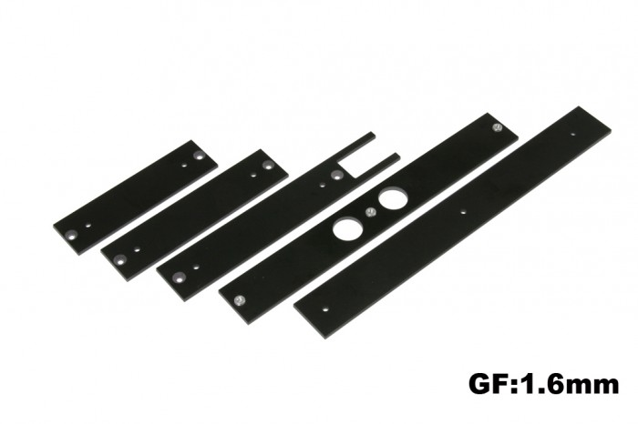 X5 Stiffening Plates and Mounts for  electronics(1.6mm)