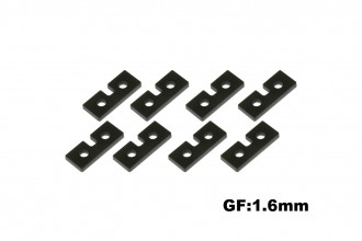 X5 Servo Mounting Plates(1.6mm)