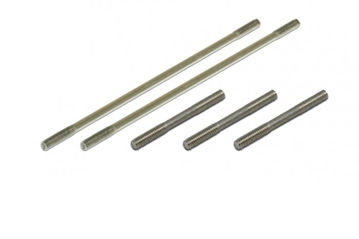 Thread Rod for CCPM (2x23.5mm)x3 (2x65mm)x2