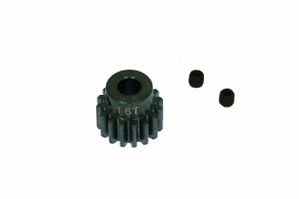 Steel Pinion Gear Pack(16T- for 5.0mm shaft)