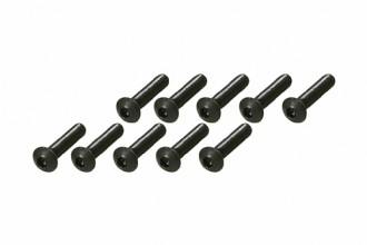 Socket Head Button Screw - Black (M3x14)x10pcs