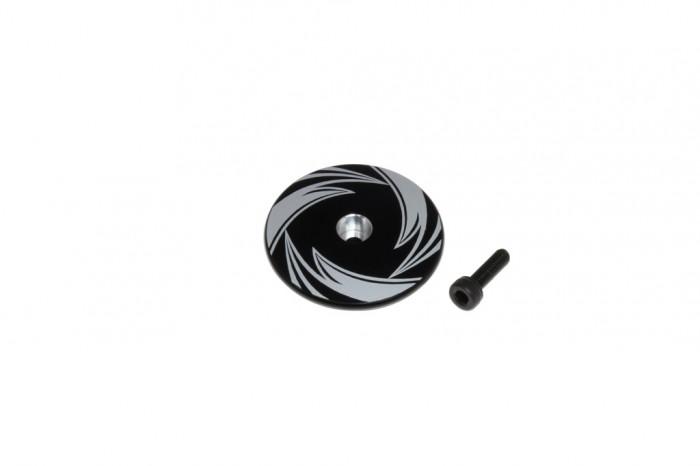 CNC Stop Plate (Black anodized)