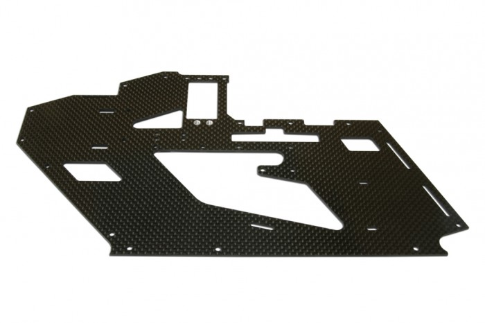 X4 Right CF Frame  with Metal parts