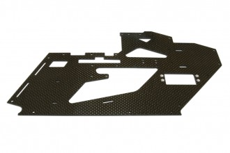 X4 Left CF Frame with Metal parts