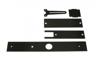 X4 Stiffening Plates and Mounts for electronics(CF)