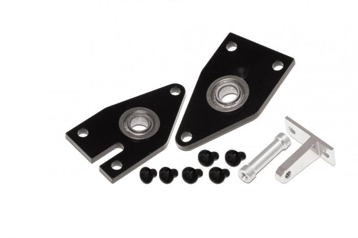 X5 CNC Tail Fram Set (Black anodized)