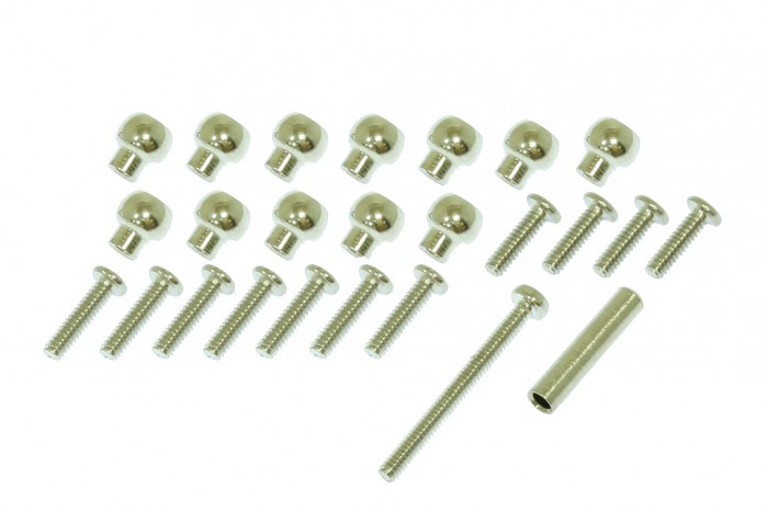 X2 Balls  & Extension for CNC Swashplate combo pack