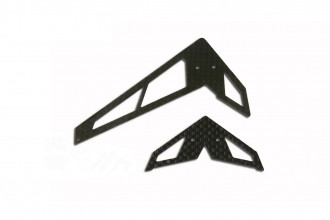 X2 CF Fin & Tail(A Type-Black)