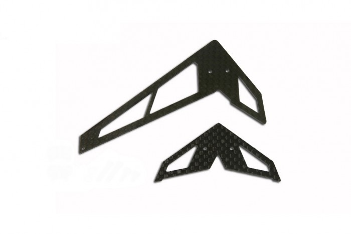 X2 CF Fin & Tail(A Type-Black)