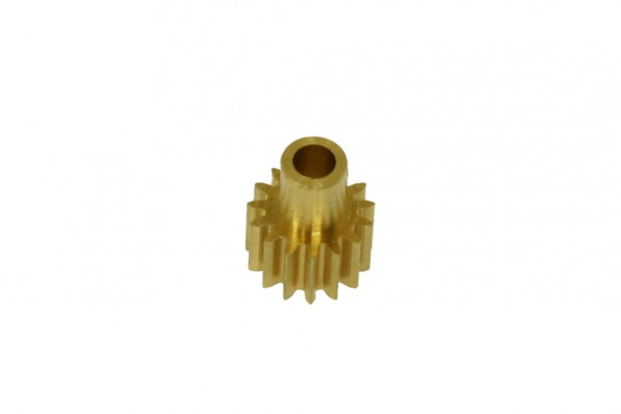 Pinion Gear with Neck 15T(for 2.3mm shaft)