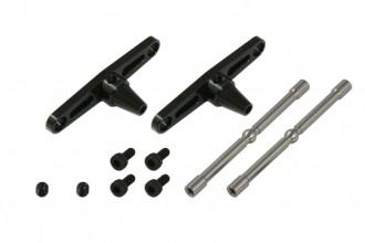 X5 CNC Stablizer Control Set (Black anodized)