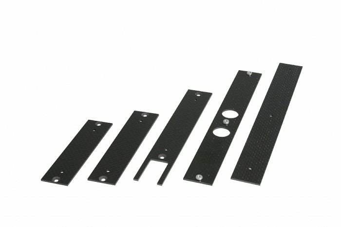 X5 Stiffening Plates and Mounts for  electronics