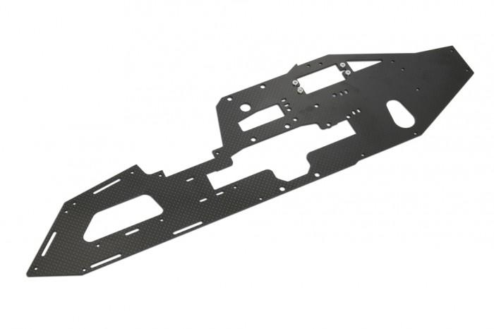 X7 CF Right Main Frame (2mm)