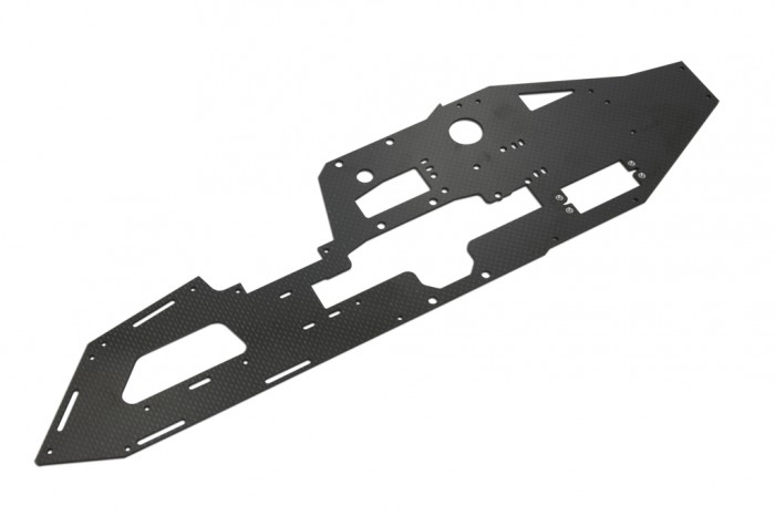 X7 CF Left Main Frame (2mm)