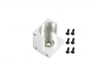 X7 Third Motor Shaft Bearing Mount (Silver anodized)