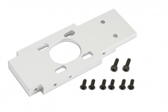X7 CNC Motor Mount (Silver anodized)
