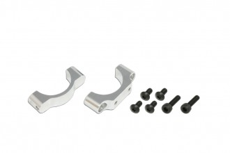 X7 CNC Tail Support Clamp (Silver anodized)