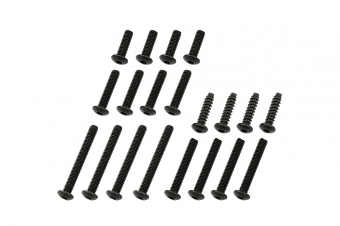 Socket Head Button Screw - Black(M3)