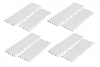 Velcro (White)x4pcs