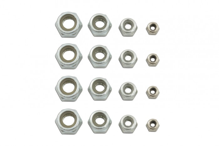 Nylon Lock Nut Pack
