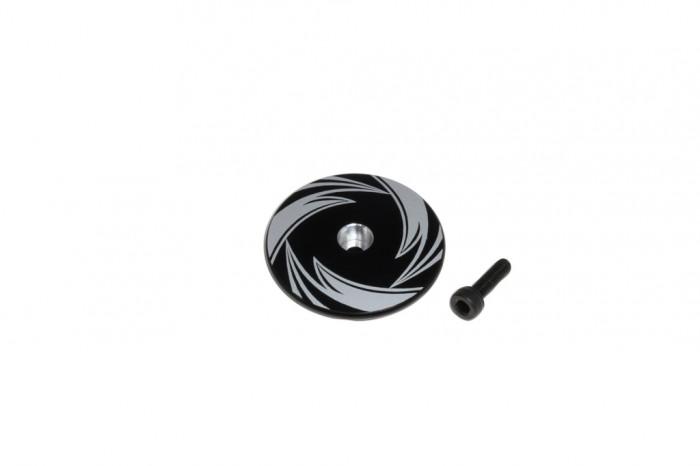 X7 CNC Stop Plate (Black anodized)