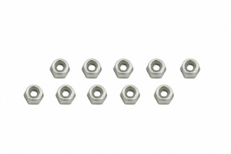 Nylon Lock Nut (N2x5L)x10pcs