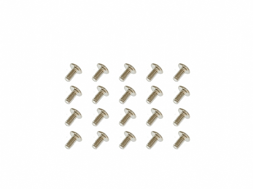 Button Head Mechine Screw (M2x4)x20