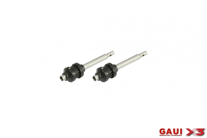 X3 Tail Output Shaft with Pulley x2pcs
