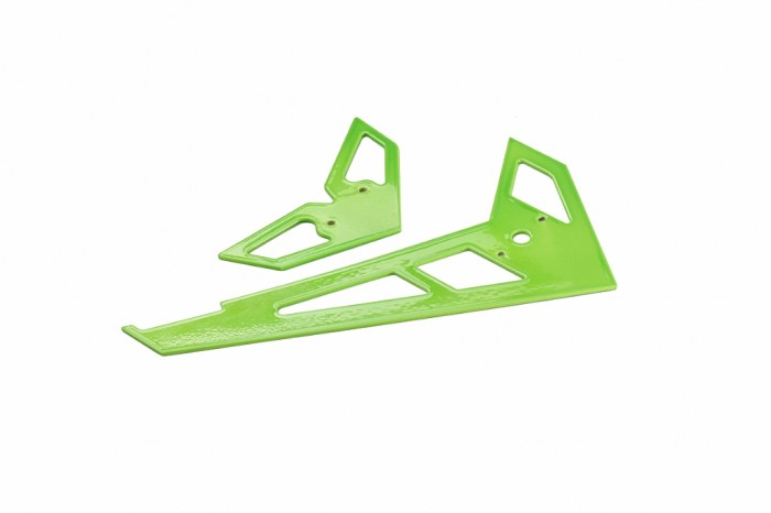X3 GF Fin and Tail (Bright Green)