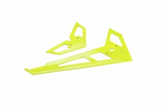 X3 GF Fin and Tail(Bright Yellow)