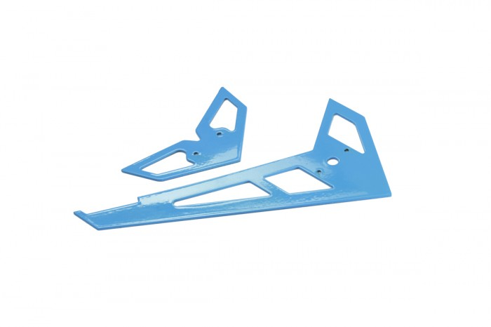 X3 GF Fin and Tail (Bright Blue)