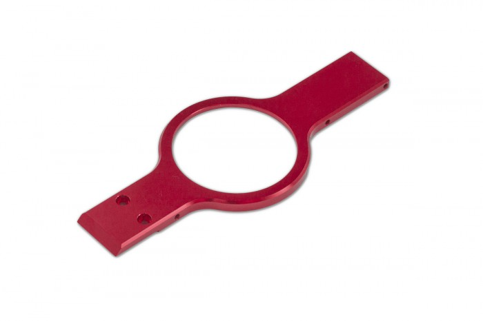 073236-CNC Reinforced Plate (Red Matte)(for NX7)
